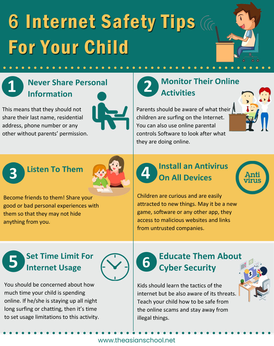 internet safety tips for your child