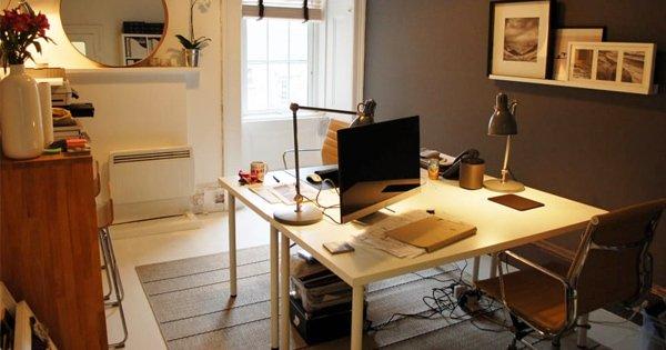 Organized Study Space