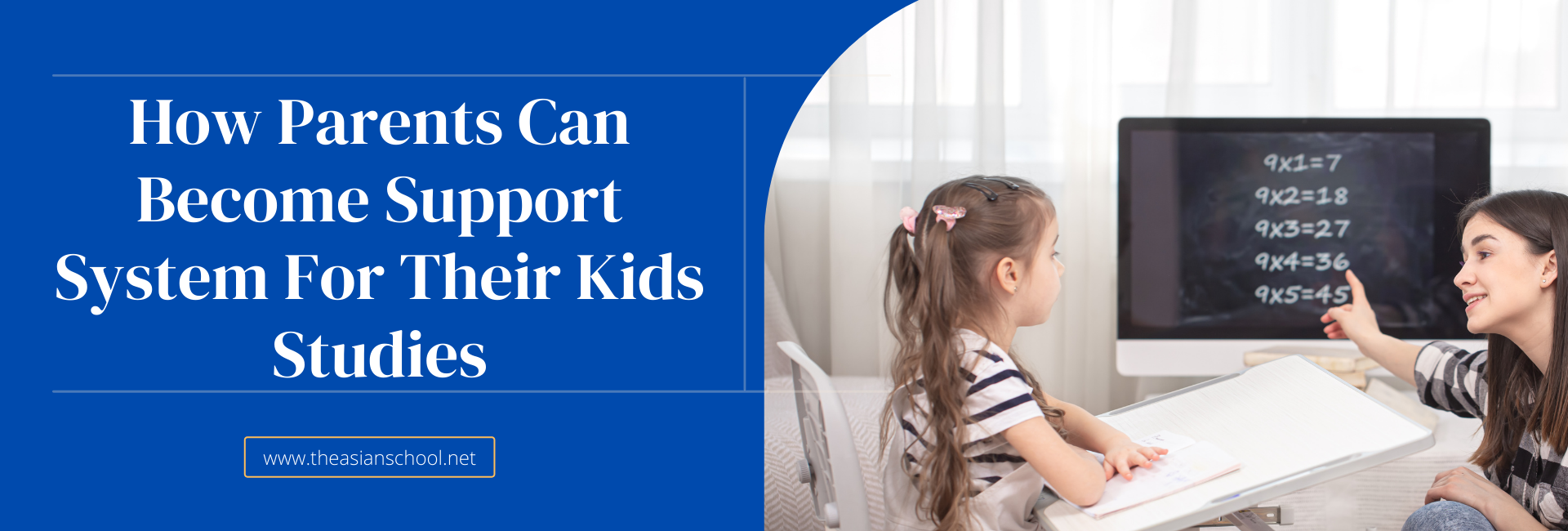How Parents Can Become Support System For Their Kids Studies